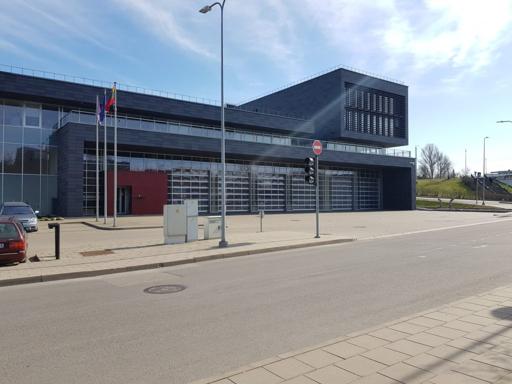 new fire station in Vilnius